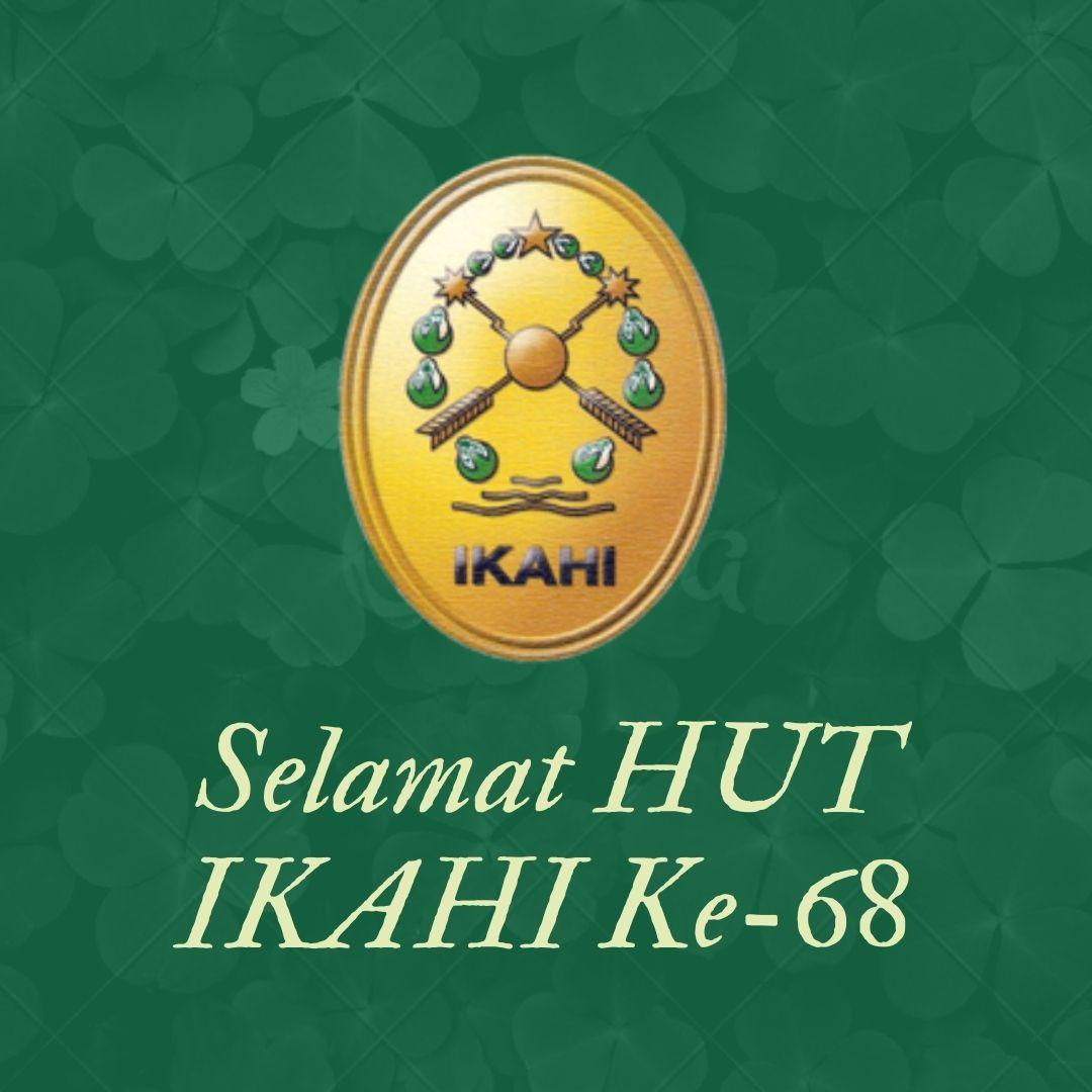 Selamat HUT IKAHI Ke-68
